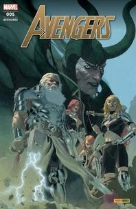 Jason Aaron et Dan Slott - Avengers N° 5 : Le crépuscule du dieu du tonnerre - Avec stickers Marvel Anniversary.