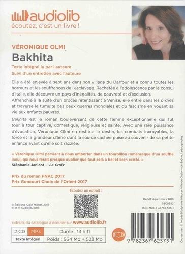 Bakhita  avec 2 CD audio MP3