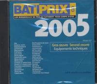 Groupe Moniteur - Batiprix 2005 - CD-ROM.