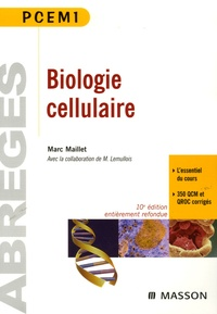 Marc Maillet - Biologie cellulaire PCEM1.