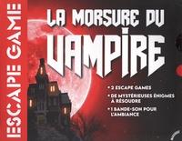 Marabout - Boîte de jeu Escape Game - La morsure du Vampire.