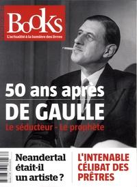 Olivier Postel-Vinay - Books N° 95, mars 2019 : 50 ans après de Gaulle - Le séducteur, le prophète.