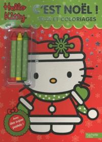 Hachette - C'est Noël - Jeux et coloriages.