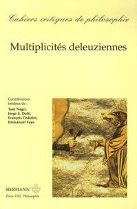 Eric Lecerf - Cahiers critiques de philosophie N° 2, Avril 2006 : Multiplicités deleuziennes.