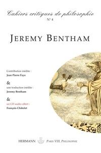 Bruno Cany - Cahiers critiques de philosophie, n° 4 - Jeremy Bentham, la logique du pouvoir.