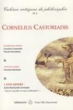 Cornelius Castoriadis et Christian Descamps - Cahiers critiques de philosophie N° 6, Juin 2008 : Cornelius Castoriadis - Une pensée neuve. 1 DVD