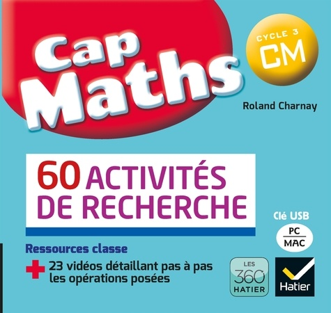 Roland Charnay - CAP Maths CM - 60 activités de recherche. 1 Clé Usb