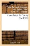 Plotho carl Von - Capitulation de Danzig.