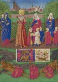 Jean Fouquet - Carnet ligné Sainte Anne et les trois Marie.
