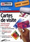 Micro Application - Cartes de visite - 2 CD-ROM.