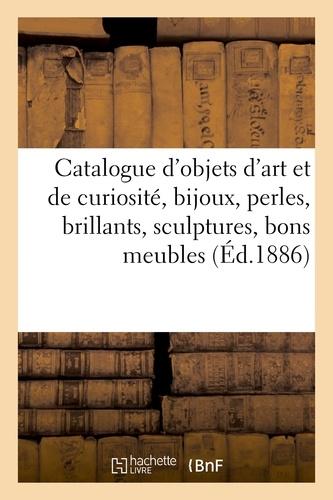 Charles Mannheim - Catalogue d'objets d'art et de curiosite, bijoux, perles, brillants, sculptures, bons meubles.