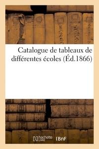 Simon Horsin-déon - Catalogue de tableaux de différentes écoles.
