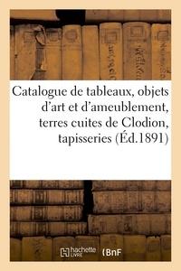 Eugène Féral - Catalogue de tableaux des ecoles primitives, italiennes et autres, objets d'art et d'ameublement - t.