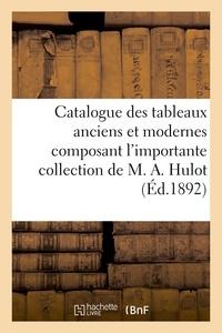 Eugène Féral - Catalogue des tableaux anciens et modernes composant l'importante collection.