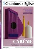 Dominique Pierre - Chantons en Eglise N° 168, novembre 201 : Carême. 1 CD audio