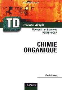 Paul Arnaud - Chimie organique.