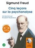 Sigmund Freud - Cinq lecons sur la psychanalyse - 2 CD audio.