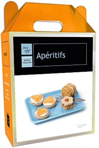 Hachette - Coffret Apéritifs - Edition collector avec 1 livre + 3 emporte-pièce.