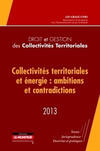 GRALE - Collectivités territoriales et énergie : ambitions et contradictions.