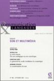 Sophie Pène et Patrick Yeu - Communication et Langages N° 141, Septembre 20 : Son et multimédia.