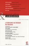 Oriane Deseilligny et Jean Clément - Communication et Langages N° 155, Mars 2008 : L'écriture au risque du réseau.