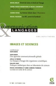 Igor Babou et Ioanna Vovou - Communication et Langages N° 157, Septembre 20 : Images et sciences.