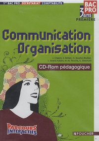 Communication Organisation 1e Bac Pro comptabilité - CD-Rom professeur.pdf