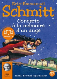 Eric-Emmanuel Schmitt - Concerto à la mémoire d'un ange - CD audio MP3.