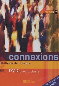 Didier - Connexions Niveau 2 - DVD pour la classe Méthode français Avec 1 livret pédagogique.