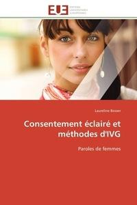 Laureline Bosser - Consentement éclairé et méthodes d'IVG - Paroles de femmes.