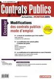 Claudie Boiteau - Contrats publics N° 157, Septembre 20 : Modifications des contrats publics : mode d'emploi.