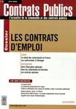 Gilles Bachelier et Frédéric Scanvic - Contrats publics N° 56, Juin 2006 : Les contrats d'emploi.