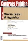 Yves-René Guillou - Contrats publics N° 84, Janvier 2009 : Marchés publics et négociation.