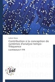 Ludovic Noury - Contribution à la conception de systèmes d'analyse temps-fréquence.