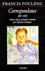 Francis Poulenc - Correspondance, 1910-1963.