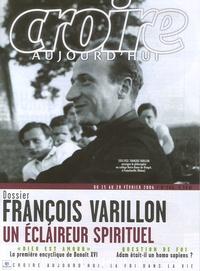 François Boëdec et René Rémond - Croire aujourd'hui N° 206, du 15 au 28 : François Varillon, un éclaireur spirituel.