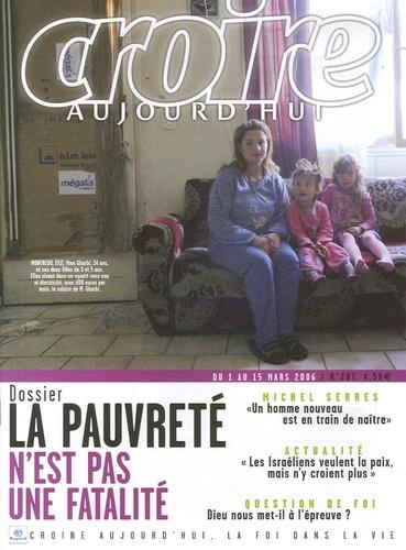 François Boëdec et Antoine Sondag - Croire aujourd'hui N° 207, du 1e au 15 : La pauvreté n'est pas une fatalité.