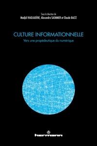 Madjid Ihadjadène et Alexandra Saemmer - Culture informationnelle - Vers une propédeutique du numérique.
