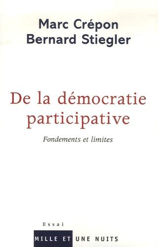 De la démocratie participative. Fondements et limites