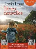 Agnès Ledig - De tes nouvelles. 1 CD audio MP3