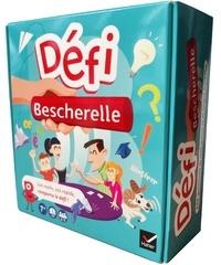 Hatier - Défi Bescherelle - 660 questions de conjugaison et de la langue française. Avec 110 cartes, 1 tourbillon en bois.