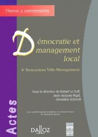 Robert Le Duff et Jean-Jacques Rigal - .