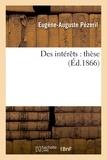 Pezeril - Des intérêts : thèse.