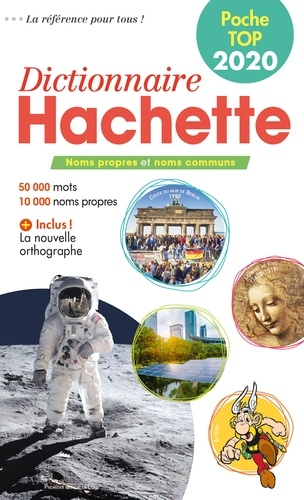Hachette - Dictionnaire Hachette Poche Top.