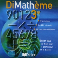 Jean-Luc Fourton - DiMathème 3e - CD-ROM.
