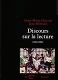 Anne-Marie Chartier et Jean Hébrard - .