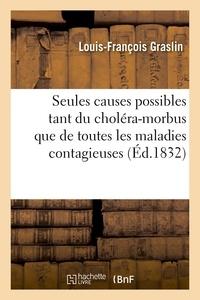 Louis-françois Graslin - Dissertation sur les seules causes possibles tant du choléra-morbus que des maladies contagieuses.