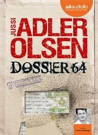 Jussi Adler-Olsen - Dossier 64 - La quatrième enquête du département V. 2 CD audio MP3