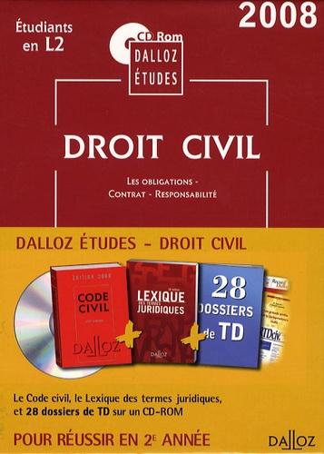 Dalloz - Droit civil 2e année - CD-ROM.