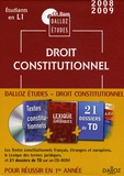 Dalloz - Droit constitutionnel - CD Rom.